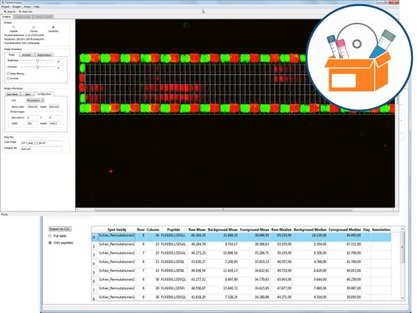 PepSlide® Analyzer One-Year License